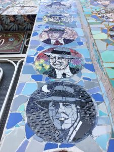 Klassisk Kreativt Broderi The smile of Gardel