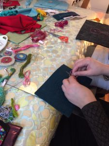 Klassisk Kreativt Broderi workshop