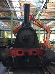Klassisk Kreativt Broderi Lokomotiv Værkstedet
